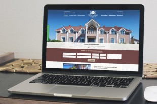 Сайт бутик-отеля «Евпаторион»