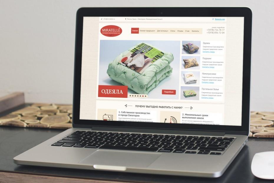 Сайт производителя «Miratelle»