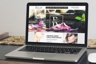 Сайт салона красоты «Relax»